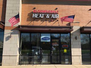 Bloomingdale HVAC Office